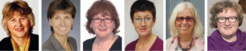 Vorstandsfrauen der Stiftung